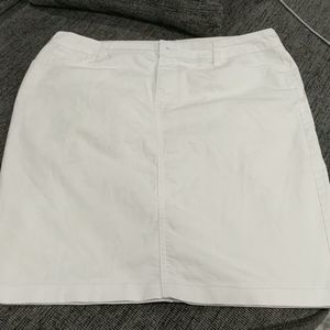 Not your daughters Jeans white denim skirt